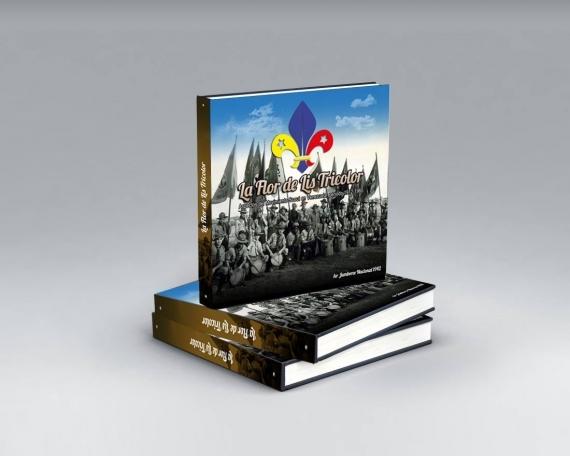 Diseño editorial La Flor de Lis Tricolor